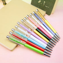0.7mm Crystal Pens Stationery Ballpen Guest book Signature (1pcs)