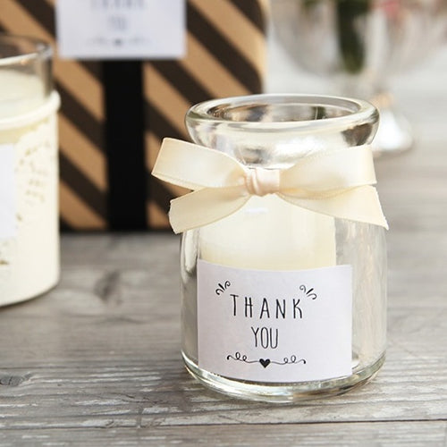 Classic Thank You Black White sticker as Food Gift Tags Labels Cake Cookie Christmas Decoration Sticker (120pcs)