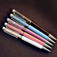 0.7mm Crystal ballpen Stationery iphone ipad pen (5pcs/lot)