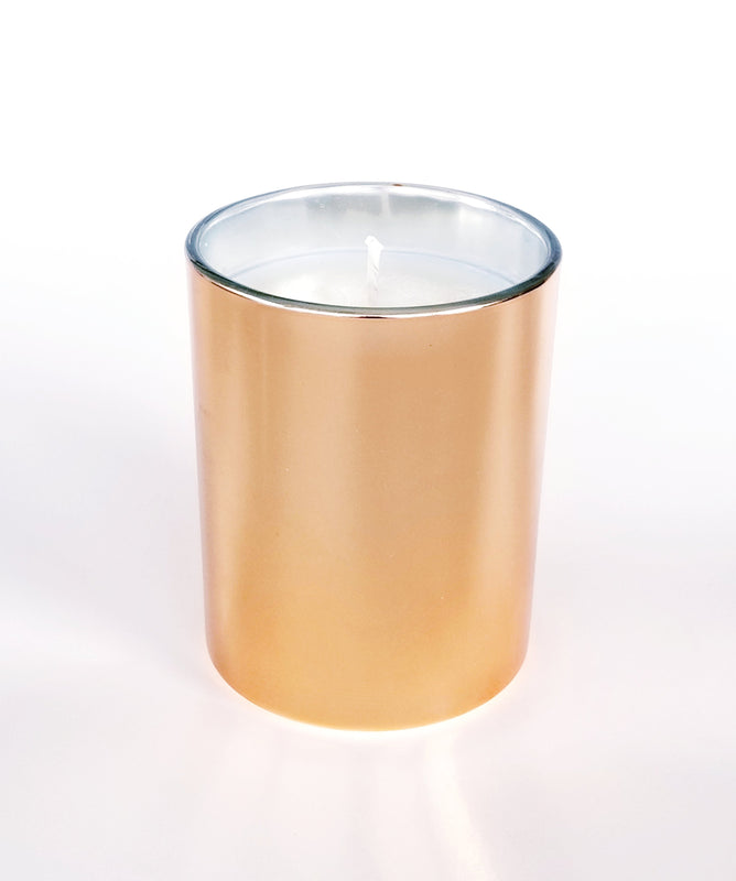 Eucalyptus Spearmint Soy Candle (rose gold) 9oz