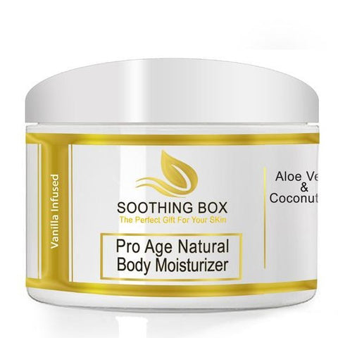Soothing Box Pro Age Natural Body Moisturizer