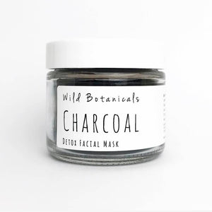 Activated Charcoal Face Mask by Wild Botanicals 1.3oz