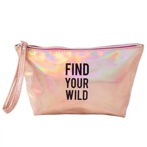 FIND YOUR WILD MAKEUP BAG