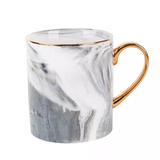 Grey European Marble Grain Mug