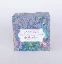 Luxury Peacock paisley Soap (Jasmine) 3.5oz