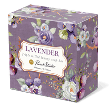 Luxury Purple Toile Soap (Lavender) 3.5oz