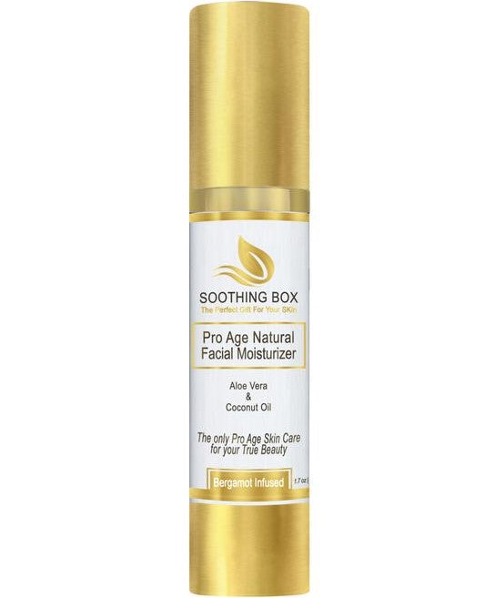 Soothing Box Pro Age Facial Natural Moisturizer