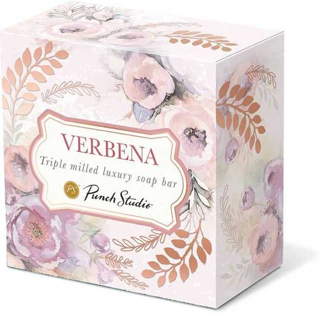Luxury Pink Dhalias Soap (Verbena) 3.5oz