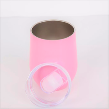 Pink Stainless Steel Cup