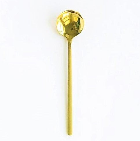 Gold Stainless Steel Spoon