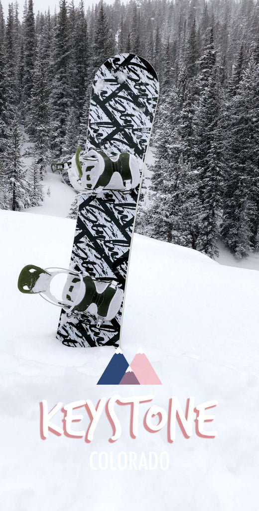 STYLN® Geometric Colors Snowboard