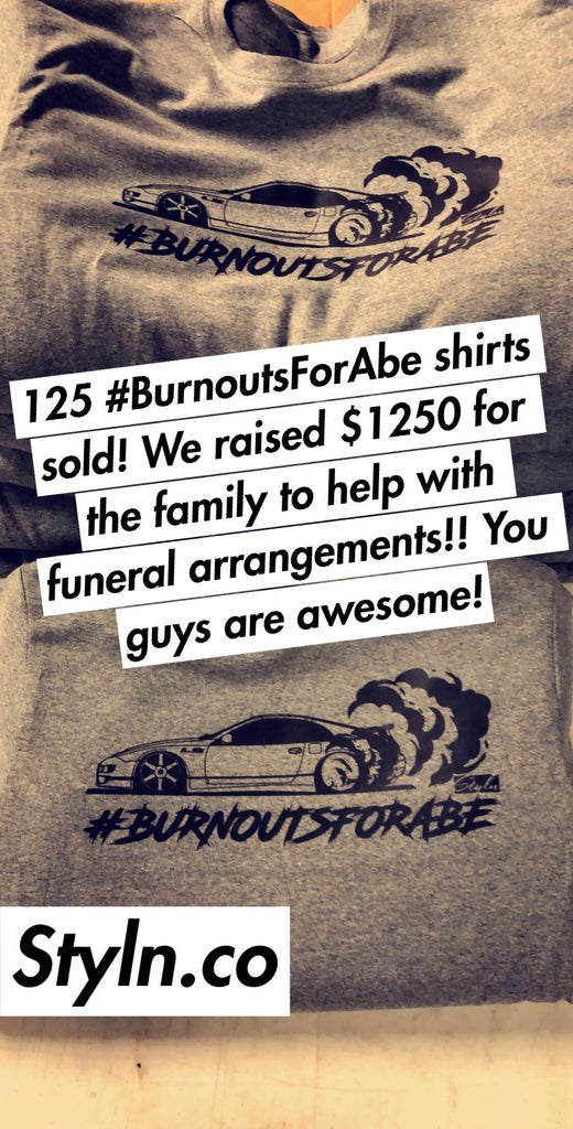 #BURNOUTSFORABE T-shirt