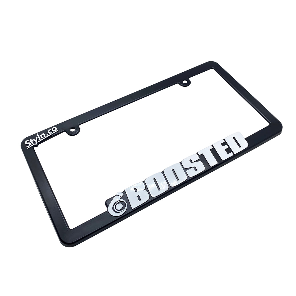 BOOSTED License Plate Frame
