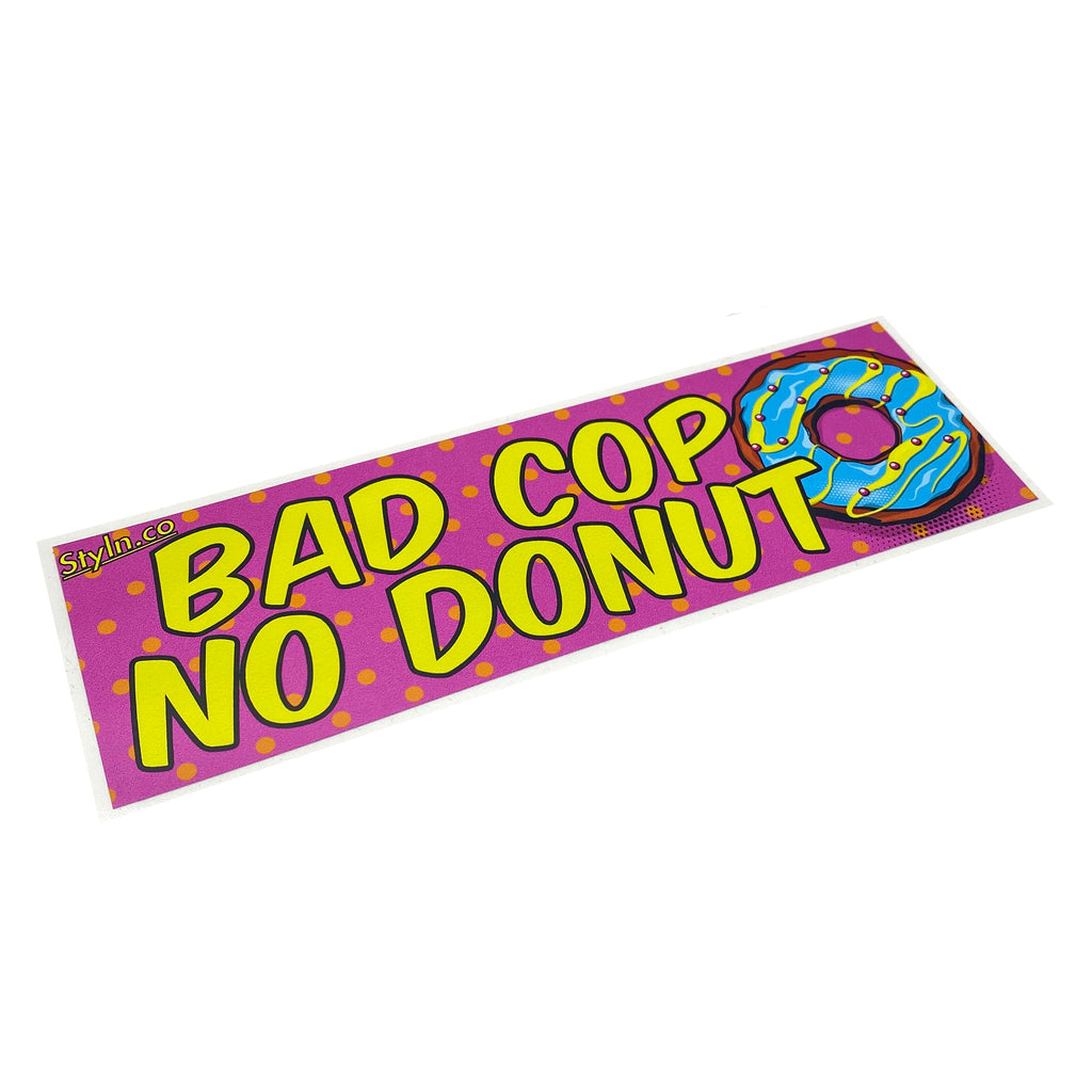 SLAP BAD COP NO DONUT
