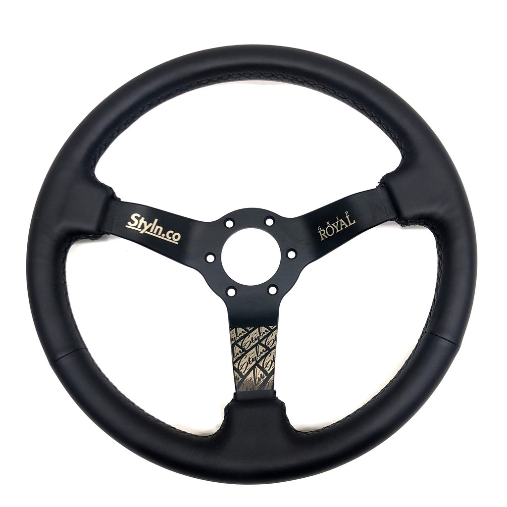 STYLN® X GRIP ROYAL STEERING WHEEL