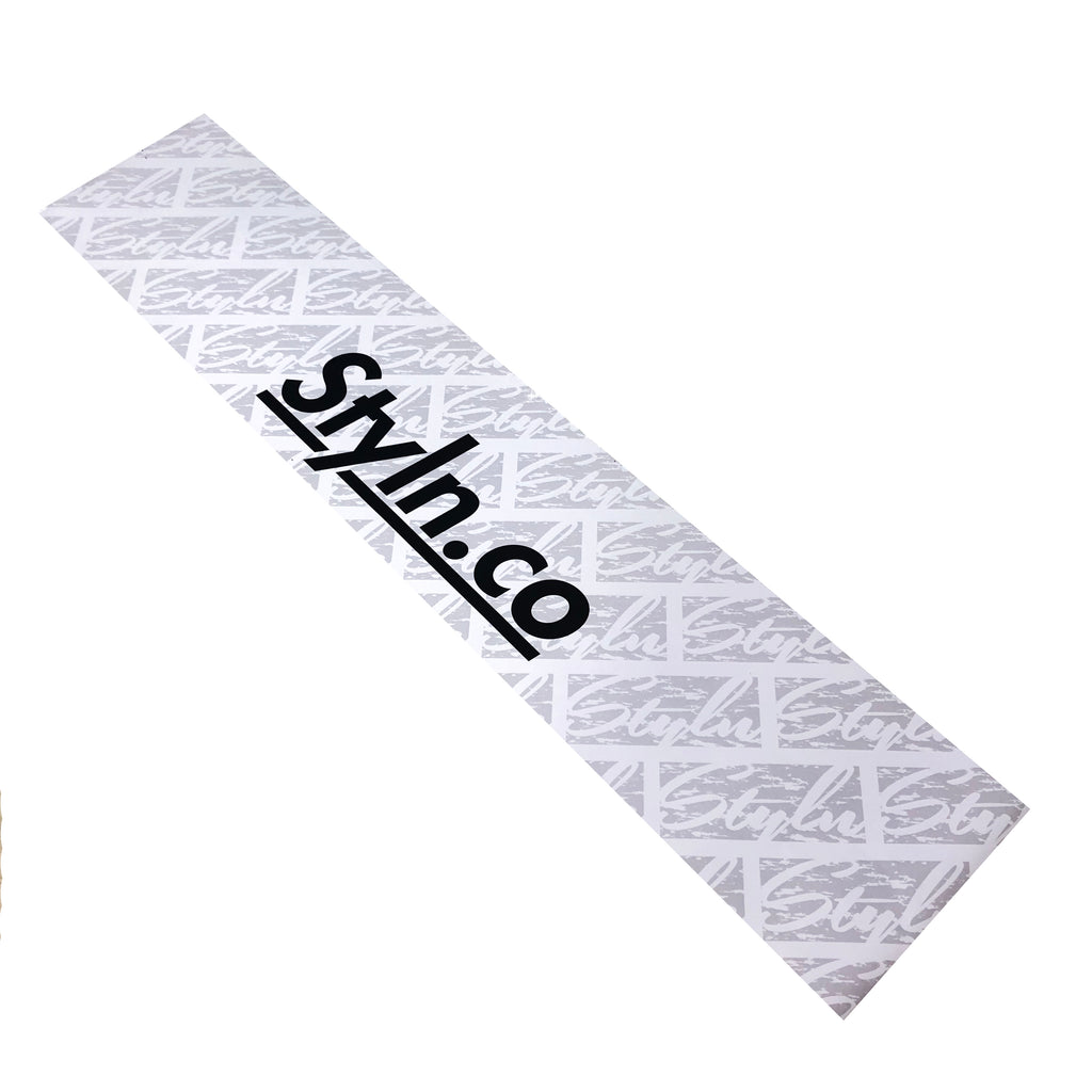 "STYLN® WINDSHIELD BANNER WHITE 12"" X 60"""