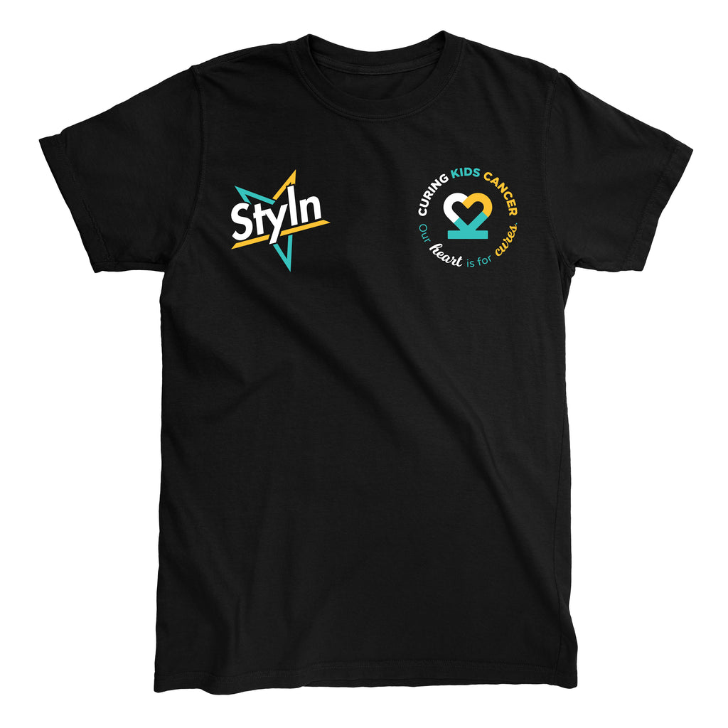 STYLN® X Curing Kids Cancer Charity T-shirt