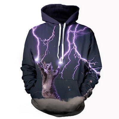 LIGHTING CAT HOODIE