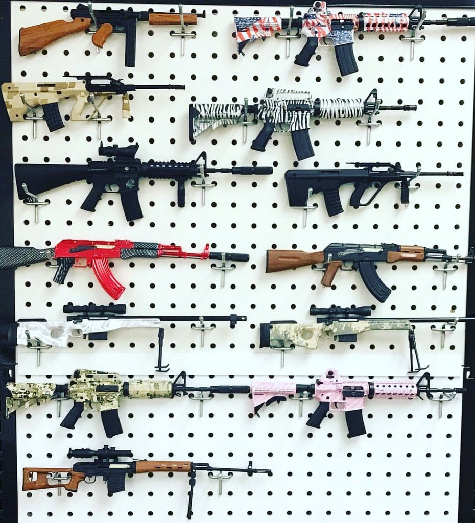 Build It: Mini Gun Wall