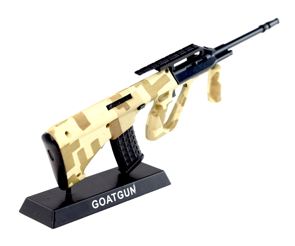 Camo AUG rifle goatgun replica