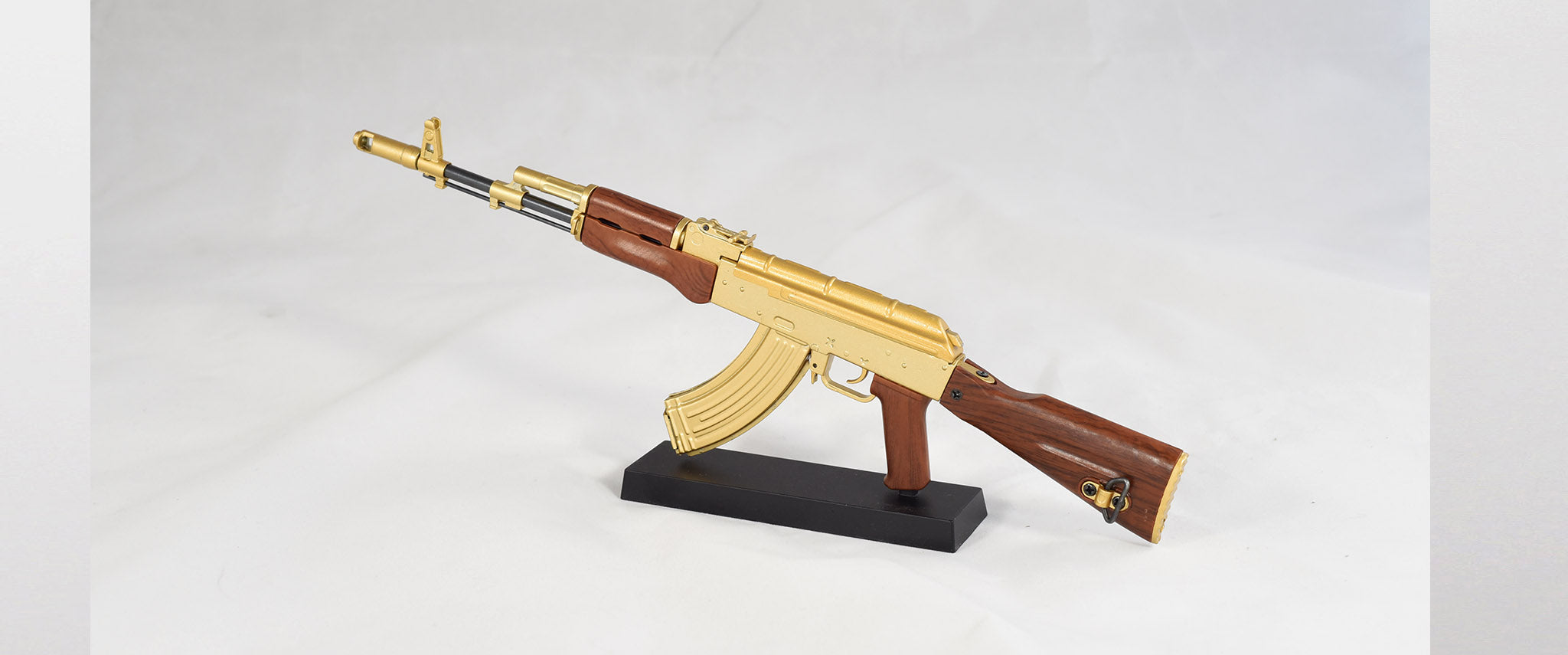 backside of ak47 gold ak47 goatgun