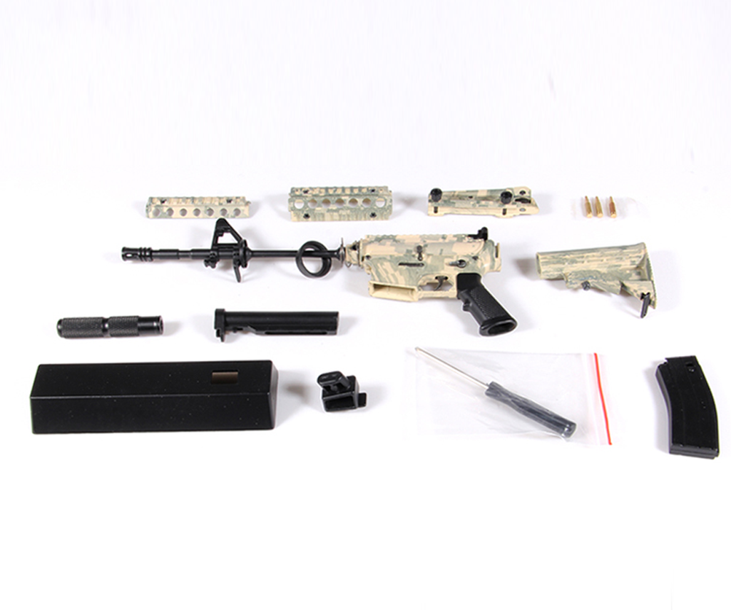 Mini M4A1 disassembled
