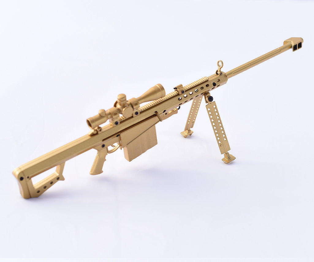 Gold M82 50cal Sniper Rifle Model Replica