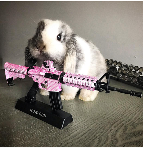 Bunny by pink ar15 miniature