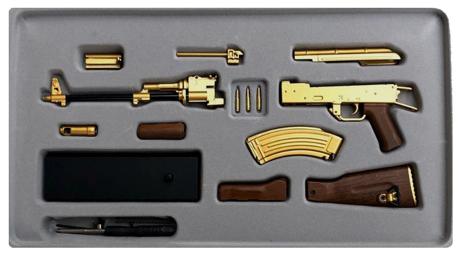 Gold AK47 case contents