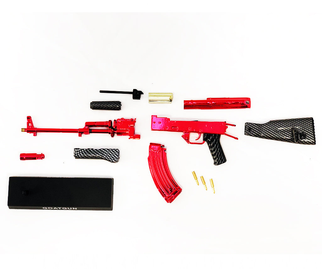 pieces of Red AK47 Goatgun