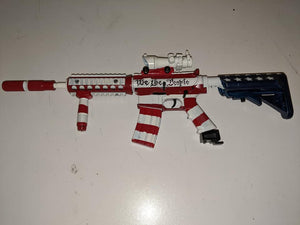 USA painted