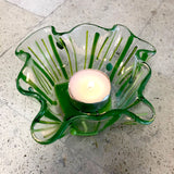 Fused Glass & Tea Night - Tea Light Holders - Wednesday, October 28th (Day Class)