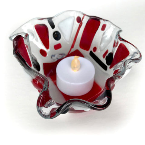 Fused Glass & Tea Night - Tea Light Holders - Wednesday, October 14th (Day Class)
