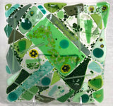 Fused Glass & Tea Night - Two 6 x 6 Plates - Friday, June 12th