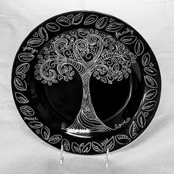 Paint & Tea - Sgraffito Tree of Life - Thursday, August 27th (Evening Class)