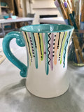 Paint & Tea Night - Mother's Day Ceramics - Saturday, May 9th (Daytime Class)