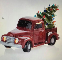 "Paint & Tea Night ""Vintage Christmas Tree Truck"" - Thursday, Oct. 10th"
