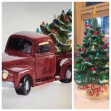 "Paint & Tea Night ""Vintage Christmas Tree Truck"" - Thursday, November 19th (Evening Class)"