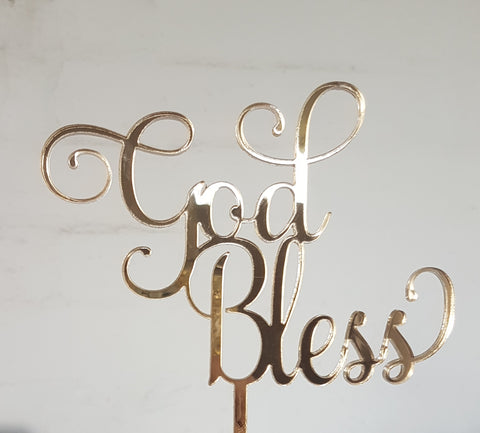 Cake topper - Bliss & Co Designs