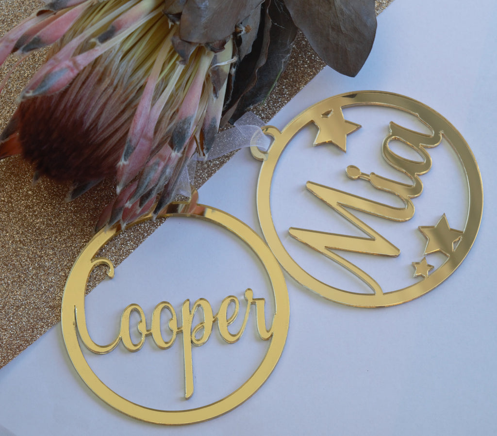 Personalised decor - Bliss & Co Designs