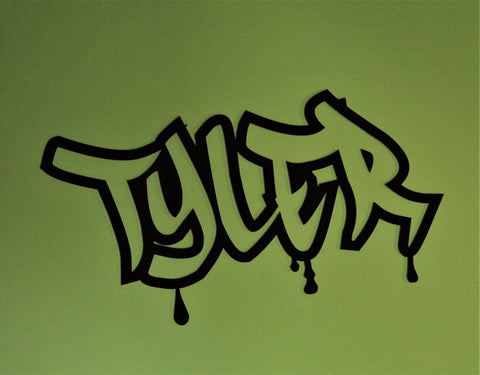 Graffiti wall name