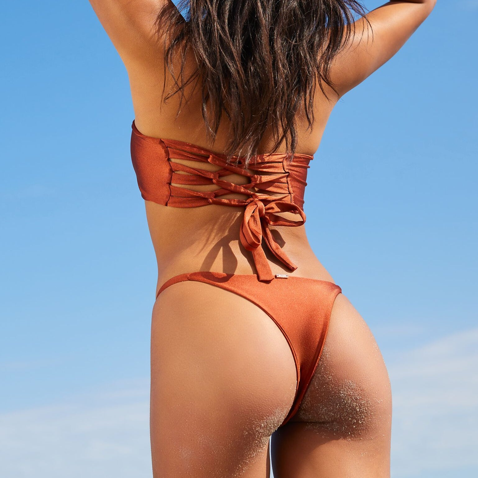 MIA BOTTOMS BURNT ORANGE