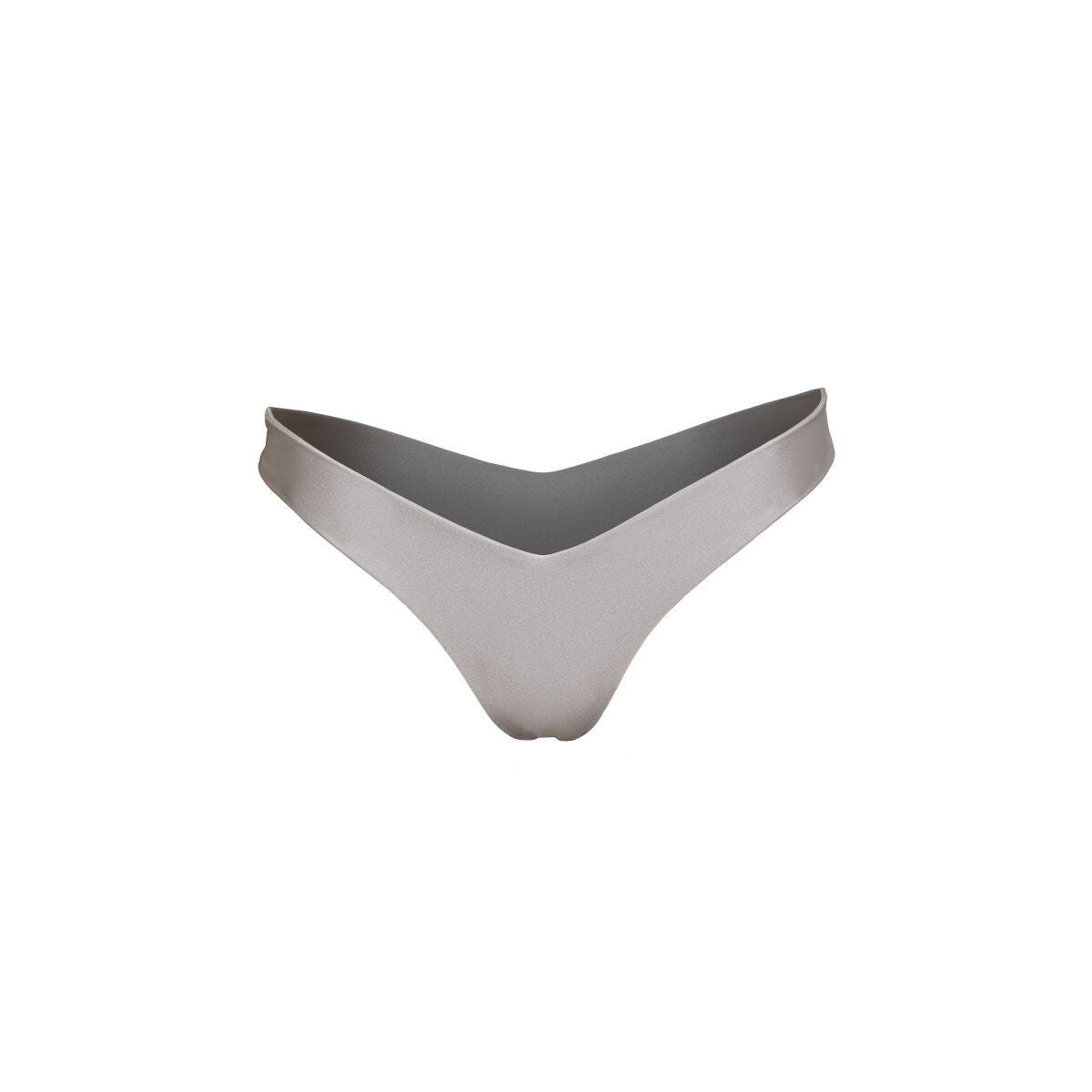 AVA V-CUT BOTTOMS SILVER
