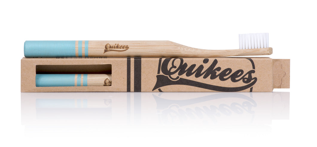 Quikees Bamboo Toothbrush - The Classic