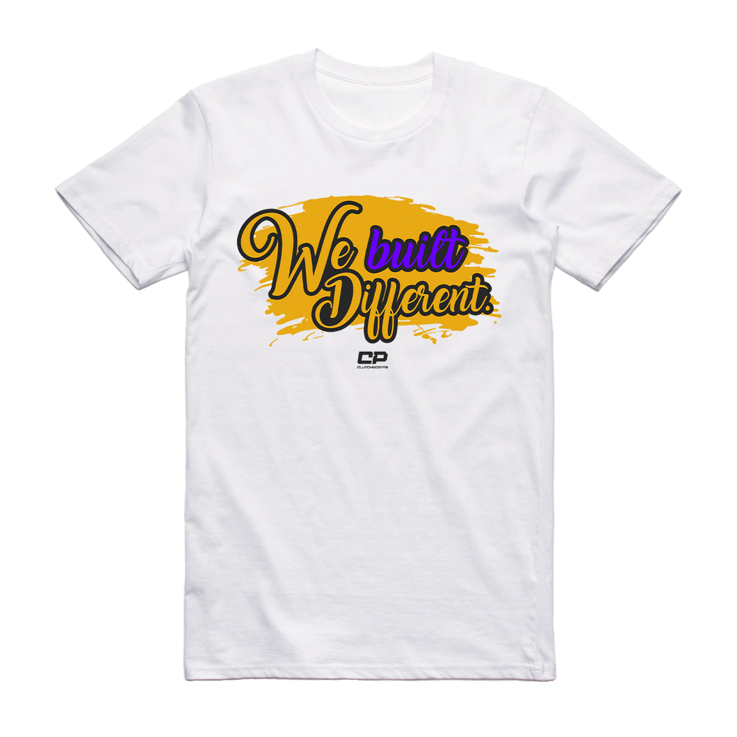 We Built Different - Championship Tee