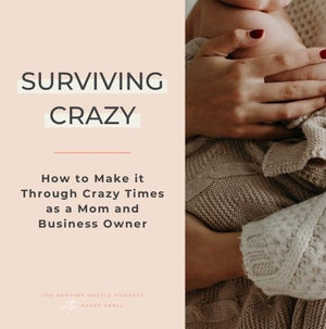Surviving Crazy - How to Make it Through Crazy Times as a Mom and Business Owner