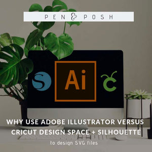 Why I use AI Instead of Cricut DS or Silhouette Studio