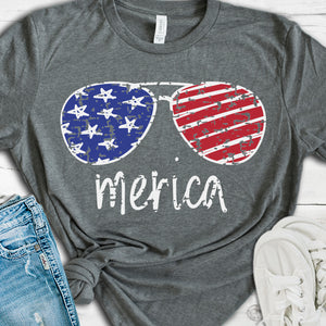 How to Design a Patriotic, Distressed Sunglasses SVG File in Adobe Illustrator