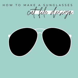 SVG Tutorial - How to Make a Simple Pair of Sunglasses