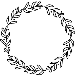 How to create a hand-drawn Wreath SVG in Adobe Illustrator